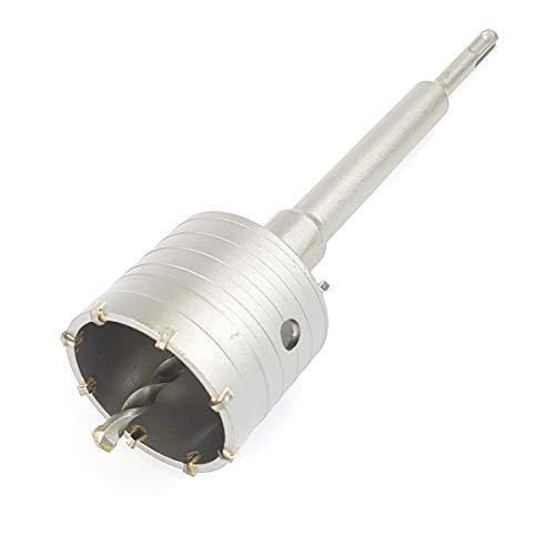 Corona de perforación de 68 mm de diámetro + adaptador SDS Plus de 220 mm y broca centradora de enchufe, broca para taladro percutor Bohrfux