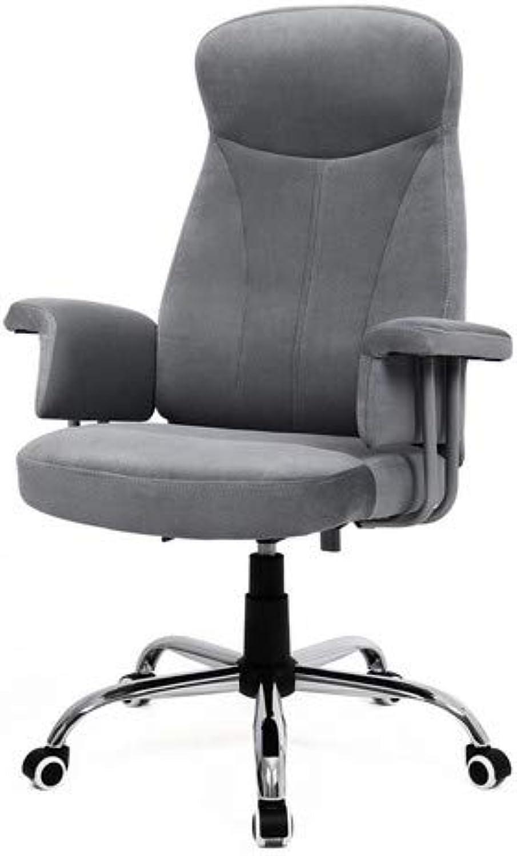 SONGMICS Bürostuhl Chefsessel Drehstuhl Computerstuhl Sitzhhenverstellung office Stuhl Polsterung OBG41G