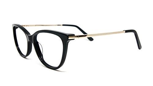 NOWAVE Occhiali neutri per PC, Tablet, TV e Gaming | Addio occhi stanchi e mal di testa da PC |Montatura leggera | Occhiali riposanti ANTI LUCE BLU 40% e UV 100% | Collezione Moda 2020 | St. Lucy