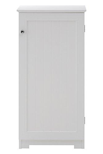 Preisvergleich Produktbild Premier Housewares 2400940 Freistehende Kommode 81x40x34 cm weiß,  MDF,  34x40x81