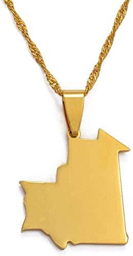 Collana Donna Collana Mappa Pendente Collana Oro Thailandia Mappa Gioielli Uomo S e Donna S Regali # 029021