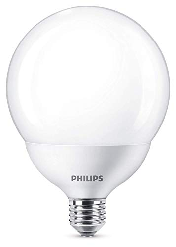 Philips Lighting Lampadina LED Globo, Attacco E27, 18 W Equivalente a 120 W, 2700 K, Luce Calda, Diametro: 120 mm, Altezza: 168 mm