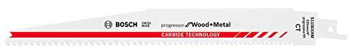 Bosch Professional Säbelsägeblatt S 1156 XHM Progressor for Wood and Metal (Länge 225 mm, Zubehör Säbelsäge)