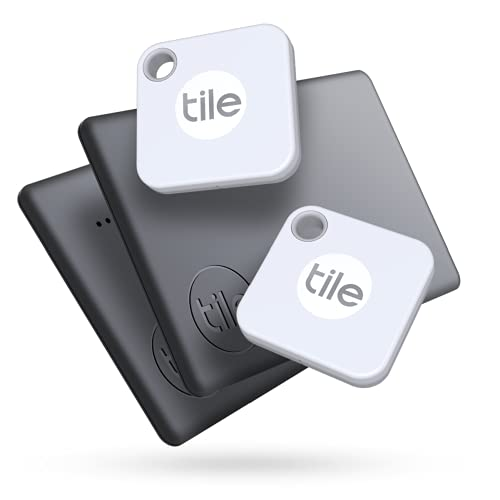 Tile Mate + Slim (2020) 4-pack (2 Mates, 2 Slims) - Bluetooth Tracker, Item Locator & Finder for Keys, Bags, Wallets, Tablets and More