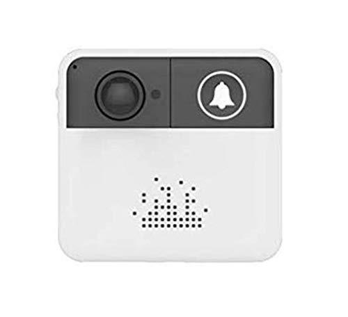 Draadloze deurbel met wifi-camera, HD 720p, geïntegreerde luidspreker en microfoon, meldingen, P2P, ICmeer