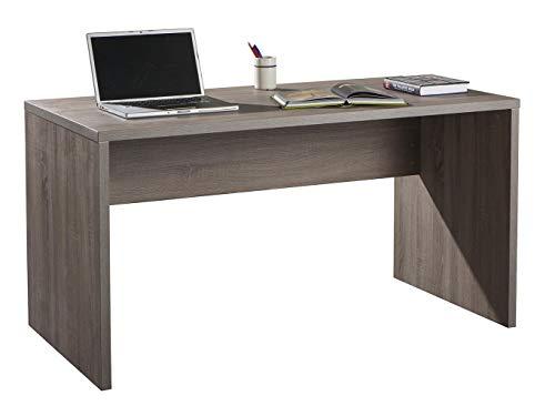 Amazon Marke - Movian - Schreibtisch, 138 x 74,5 x 69cm, Dunkle Eiche