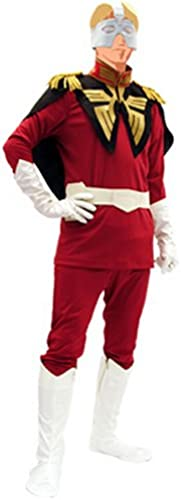 Trantrip Gundam Char Costume Set Mens Free