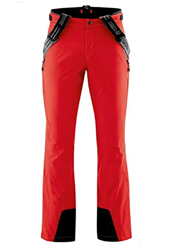 Maier Sports Herren Copper Slim Skihose, fire, 56