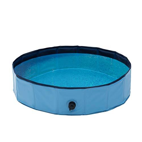 Qeedo Quick Pool, faltbar (80 cm) - Hundepool, Katzen Planschbecken