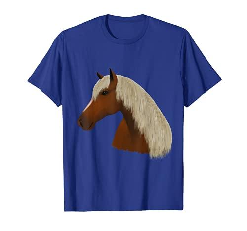 Pferd / Pferdekopf (D010-0699A) T-Shirt
