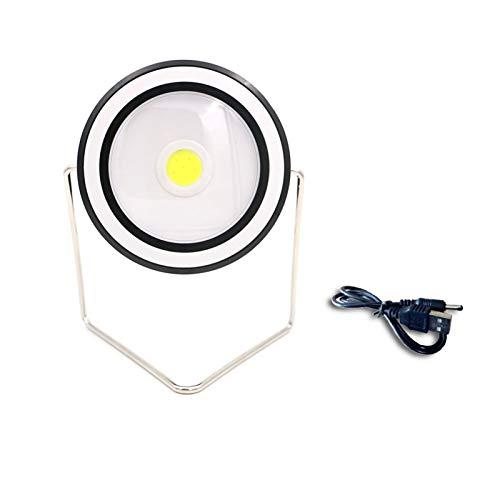 TTW Emergencia portátil LED Lantern Solar DE 2 Modos Circular Circular/LÁMPARA DE Camping APERTORIA APROXIMADA Recargable APROXIMADA Lámpara de luz (Wattage : Circular)