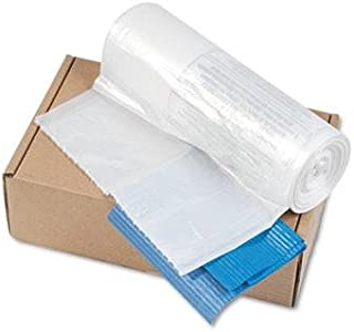 Powershred Shredder Bags for Models C-380, C-380C, 50 Bags & Ties/Carton, Clear