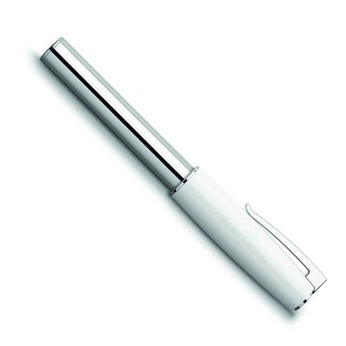 Faber Castell 149175 - rollerbalpen LOOM Piano inclusief geschenkverpakking, dikte: B, schachtkleur: wit/zilver