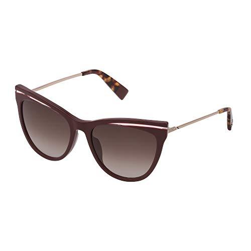Fula - Gafas de sol SFU349 09FD 55-18-135 para mujer, color ciruela brillante