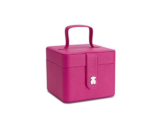 TOUS Joyero Dubai, Damen Taschenorganizer, Rosa (Fucsia), 15x12.5x14.5 cm (W x H L)