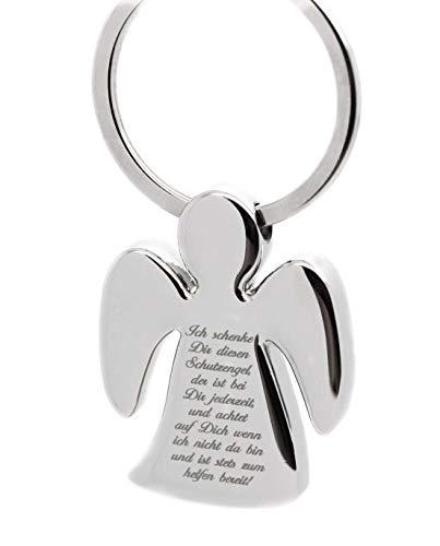 Schutzengel Schlüsselanhänger mit gratis Gravur