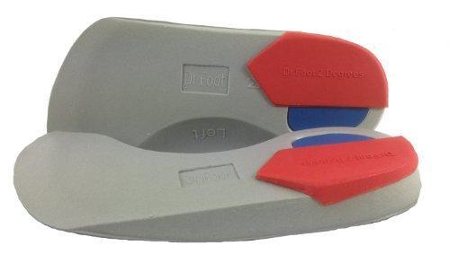 Dr Foot Dr Foot Pro 2 Grad Supinationseinlagen (3/4 Länge) Medium