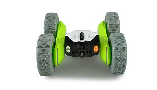 Amewi 22486 Big Spinstar Stuntfahrzeug 4WD 1:24 RTR, grün/grau
