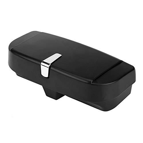 Akozon auto zonnebrilhouder auto veelzijdig zonnebril opslag eigenaar clip-case organisator box universeel