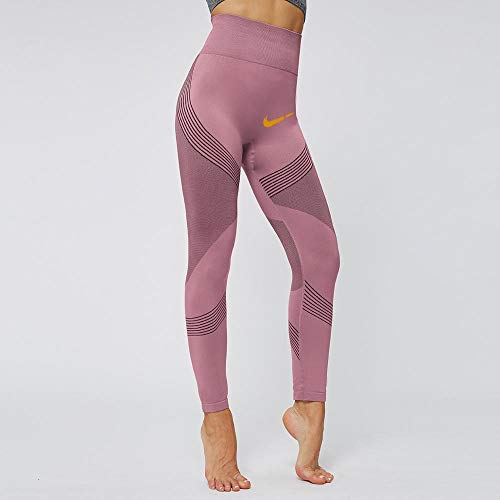 Yoga open rug trainingskleding,Zachte panty met print, nude yoga legging-Q_M,Yogabroek Workout Leggings