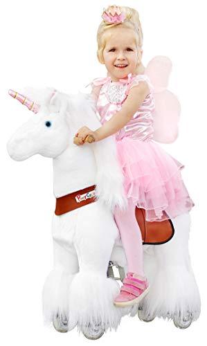 passend für Ponycycle Sternschnuppe - Schaukelpferd - Kuscheltier auf Rollen - Inline - Kinder - Pony - Pferd - Reiten - Plüschtier - MyPony (N-Serie Modell 2019 Medium)