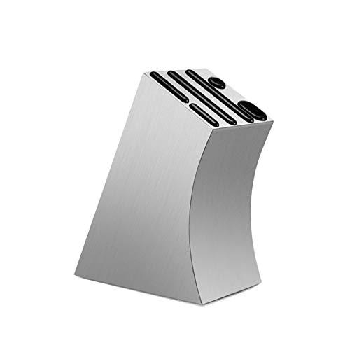 Cuchillos 304 Soporte de cuchilla de acero inoxidable Multifunción Cuchillo de almacenamiento Bloque de metal Cuchillo de cocina Soporte Rack Comedor Accesorios de cocina soporte