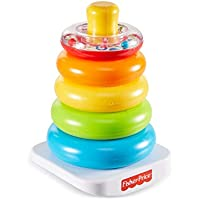 Fisher-Price disney Pirámide balanceante, juguetes bebe 6 meses, multicolor (Mattel FHC92)