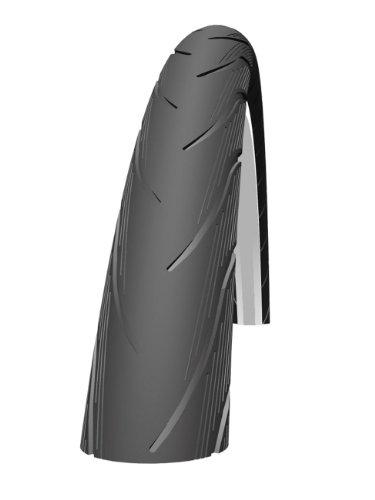 Schwalbe Spicer Rigido Active Line, cordoni Unisex Adulto, Nero/Reflex, 26x150
