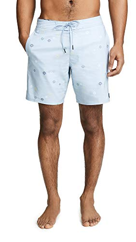 RVCA Aster Trunk Aster Trunk - Camiseta para Hombre Dusty Blue 28