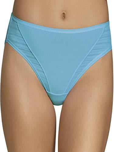 Fruit of the Loom Women's 4 Pack Coolblend Hi-Cut Panties