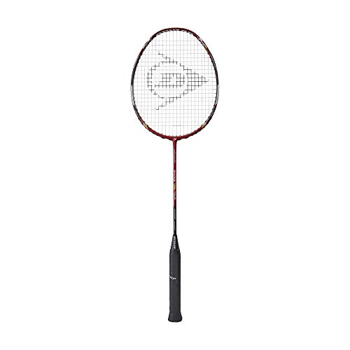 Dunlop Sports Nanoblade Savage Woven Special Tour Badminton Racket, Red/Black