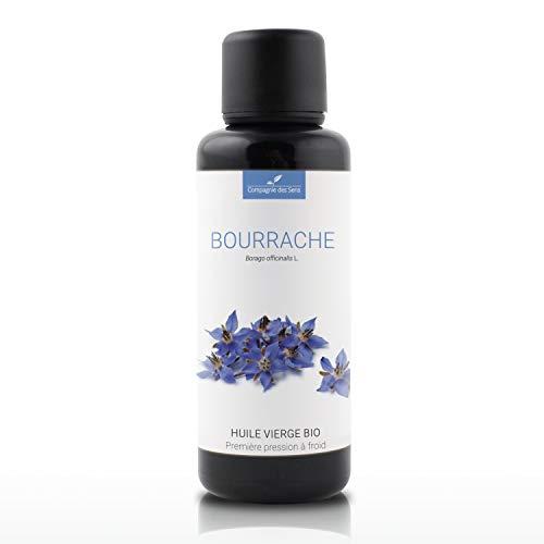 BOURRACHE - 50mL - Huile Végétale Certifiée BIO, garantie vierge et de première pression à froid - Aromathérapie - La Compagnie des Sens