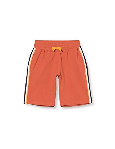 CMP Jungen Stretch Shorts mit elastischen Bund Logo, Flame, 98