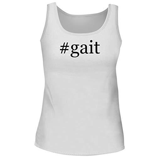 #gait - Women's Soft & Comfortable Hashtag Tank Top, White, XX-Large