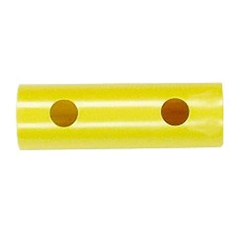 Moveandstic Rohr 15 cm Auswahl zur Erweiterung von Klettergerüst und Spielturm (gelb)