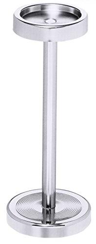 Sektkühlerständer aus Edelstahl, extra hoher Rand, schwere Qualität / Höhe: 67,5 cm | ERK