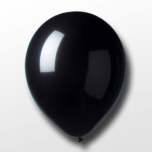 Unbekannt 10 Luftballons schwarz
