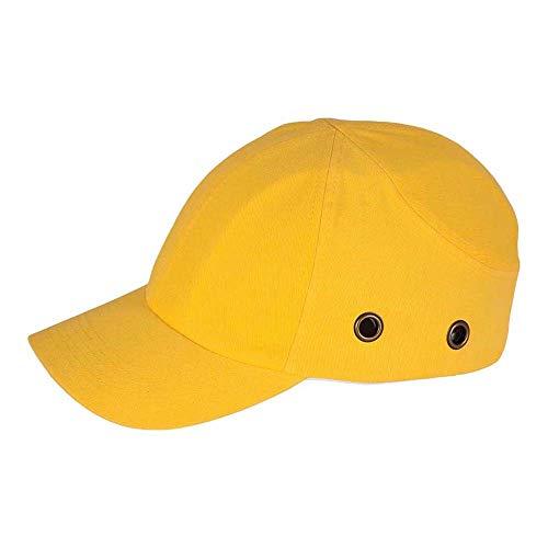 Reis Bumpcap_Y - Casco industrial ligero (talla 54-59), color amarillo