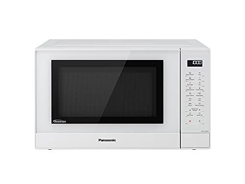 Panasonic NN-ST45KWEPG Inverter Mikrowelle (1000 Watt, Solo Mikrowelle, 32 Liter, rostfreier Stahl) weiß