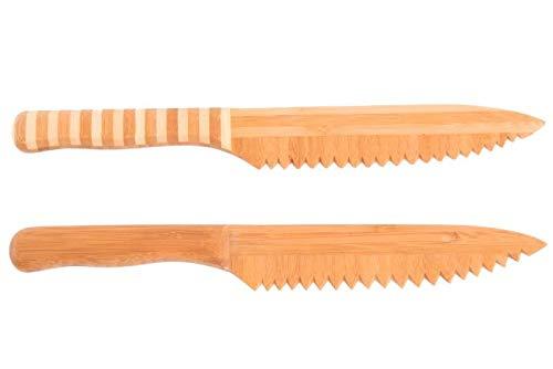 Item International Cuchillo bambú 30x4 (Pack 2)