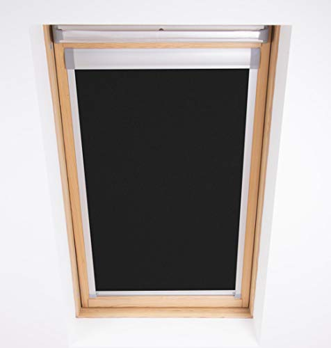 Bloc Skylight Blind M04-Techo para Ventanas Velux, Opaco,60.3 x 73 cm, Negro