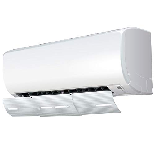 AIR WING Slim, Length & Angle Adjustable Air Conditioner Deflector helps Cooling/Heating Air Circulation, Anti Blast, Wind Baffle and Direction, Anti-Condensation