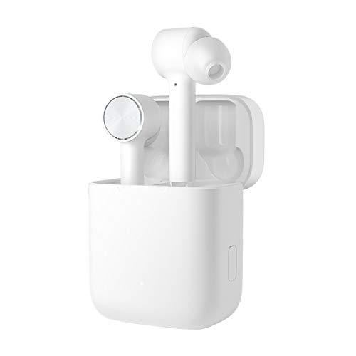 Mi Airdots Pro – Xiaomi Wireless ꟾ Auriculares TWS inalámbricos ꟾ Cancelación de Ruido ꟾ Bluetooth ꟾ Resistencia al Agua IPX4 ꟾ Carga portátil de 300 mAh ꟾ iOS y Android