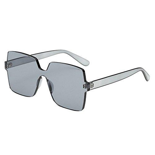 Dorical Sonnenbrille für Unisex/Damen Herren Groß Sunglasses PC gestell Brillenfassung Elegant Vintage Outdoor Brillen/Brille Dekobrillen/Valentinstag Brille für Frauen Männer Promo