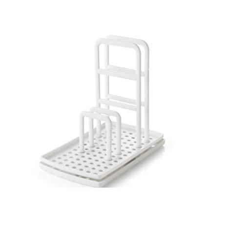 Utensilios De Cocina Toalla Trapo Estante Soporte para Colgar Organizador De Encimera Soporte Gadgets De Cocina Estante Esponja Estante De Drenaje Blanco