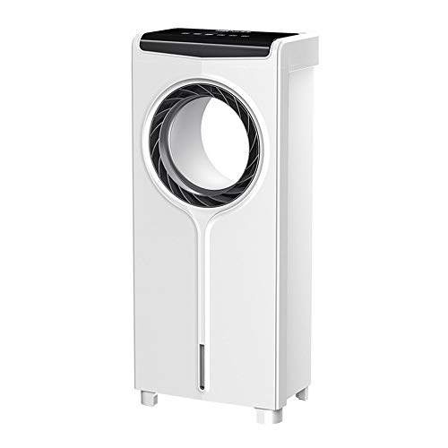 Air Conditioning Fan, 4-in-1 Air Cooler, 3 Fan Speeds, with Oscillation, 7.5 Hour Timer, with Remote Control, 4 Litre Water Tank, Suitable for Home and Office/A / 30x20x71.5cm