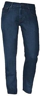 Raphael Valencino Mens Comfortable RV Basic Light Bleach Wash Jeans Plain Sizes 30-48 Leg Short Regular Long Stone Wash In...