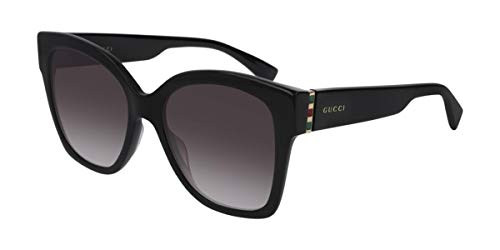 Gucci GG0459S BLACK-GOLD-GREY (001) - Gafas de sol