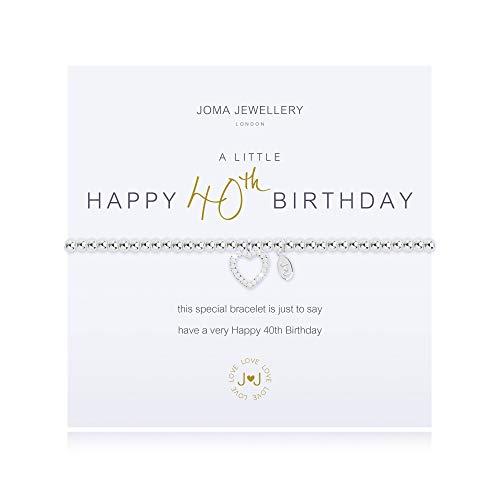 Joma Jewellery a Little 40TH Birthday Bracelet