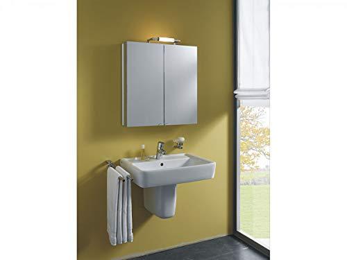 Spiegelschrank BelALU Aluminiumspiegelschrank mit Beleuchtung Badspiegel von Jokey